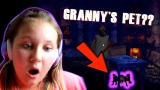 GRANNY's EVIL PET AND NEW ESCAPE *GRANNY UPDATE*