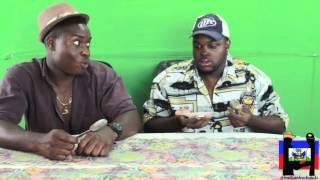 Haitians Try American Food