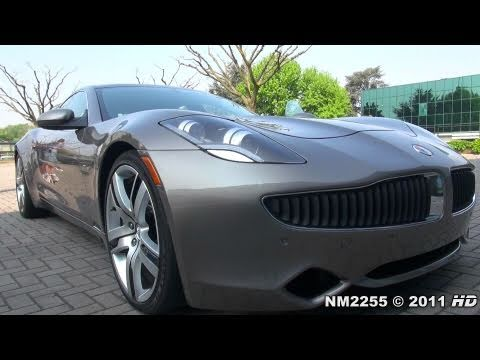 2012 Fisker Karma ES Hybrid - IN ACTION