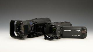 getlinkyoutube.com-[4K] Shoot out: Panasonic HC-WX970M / HC-X1000 & Sony FDR-AX100 Shoot out
