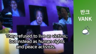 getlinkyoutube.com-The Comfort Woman Statue Goes to America