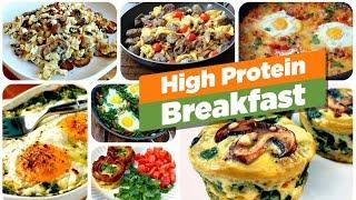HIGH-PROTEIN Breakfast Recipes  || GURU MANN Challenge Series