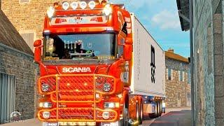 getlinkyoutube.com-Scania Mega Tuning Mod ETS2 (Euro Truck Simulator 2)