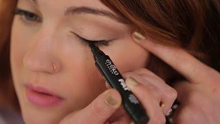 getlinkyoutube.com-How To: Apply Liquid Eyeliner for Beginners