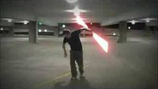 CONCRETE HUSTLE lightsaber duel
