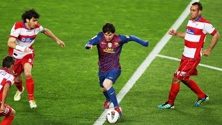 getlinkyoutube.com-Lionel Messi ● 10 Virtually Impossible Assists  ► Not Even Possible on PlayStation ! ||HD||