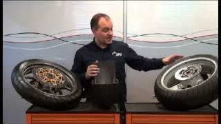 Neumáticos en las motocicletas. Presiones de trabajo