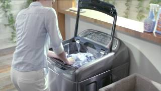 getlinkyoutube.com-Samsung Active Dual Wash Washing Machine