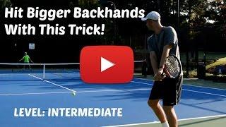 getlinkyoutube.com-Efficient Power For All Two-Handed Backhands