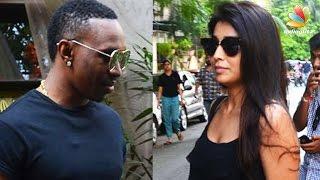 Shriya Saran & Dwayne Bravo caught on a lunch date | Hot Tamil Cinema News