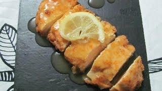 Pollo al Limon estilo Chino - Tu Cocina en Casa - Recetas de Cocina
