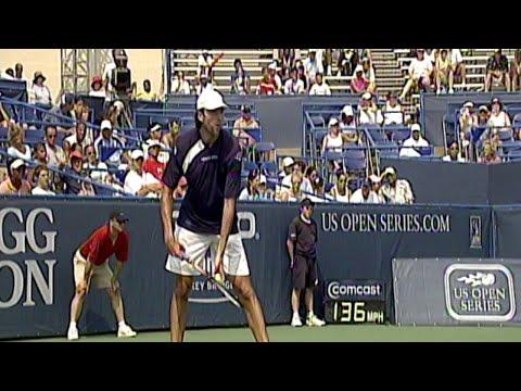 Karlovic Almost Hits Roddick With Serve