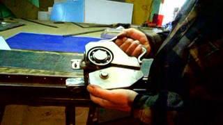 самодельный роликовый нож по металлу