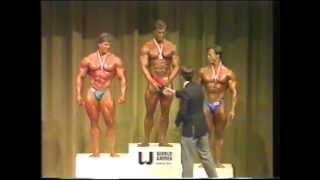 getlinkyoutube.com-Berry DeMey wins 1985 world games body building competition
