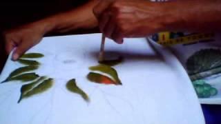 getlinkyoutube.com-pintura de rosas parte 1