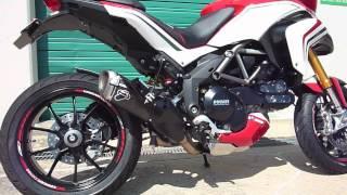 getlinkyoutube.com-Ducati Mutlistrada 1200 Video Termignoni Exhaust Sound Comparison