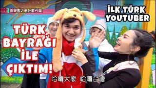 Tayvan'da TÜRK BAYRAĞIYLA Televizyona Çıktım! (Türkiye'yi Tanıttım!)