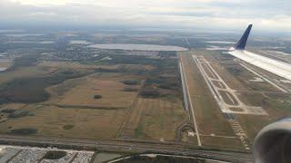 JetBlue Embraer 190, Takeoff Orlando, Turbulence & Landing Nassau