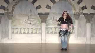 getlinkyoutube.com-Arielle's Street Shaabi (Mahraganat) شعبي / مهرجان / مهرجانات Performance at Bellydance Masters 2014