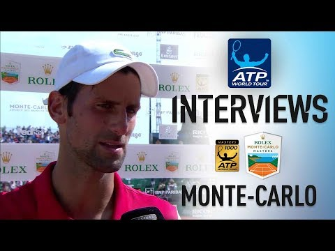 Djokovic Looks Ahead To Thiem After Coric Victory Monte Carlo 2018