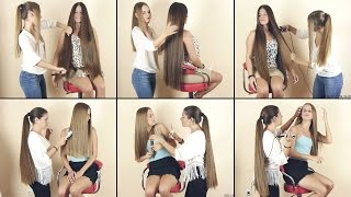 getlinkyoutube.com-Hair2U - Suzana and Maja Hair Play Preview