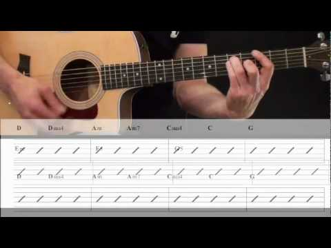 Beginner Acoustic Strumming Guitar Lesson 3 of 3