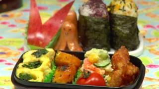 How to Make Bento Lunch Box (Recipe) お弁当 作り方レシピ