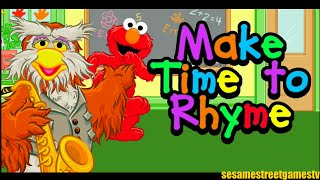 Sesame Street Make Time To Rhyme With Elmo & Hoots The Owl