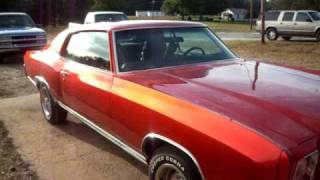 getlinkyoutube.com-Kandy Paint Candy Paint ....71 Chevy Monte Carlo Kandy Tangerine  Pt .4 With Ghost Rallys