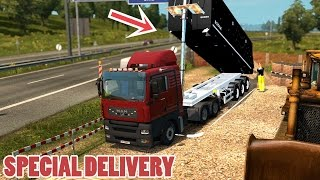 getlinkyoutube.com-ETS2 SPECIAL DELIVERY: MAN TGA + Tipper Trailer mod (Euro Truck Simulator 2)