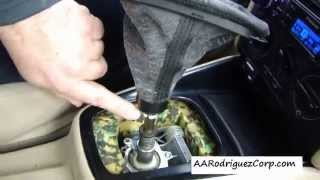 getlinkyoutube.com-DIY - How to replace a VW MK4 shift boot and knob