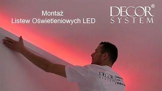 getlinkyoutube.com-Listwy Oświetleniowe LED - instrukcja Montażu