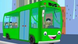 getlinkyoutube.com-Canzoni per bambini e bimbi piccoli - Wheels on the Bus compilation - Italian Baby music songs