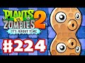 Plants vs. Zombies 2: It's About Time - Gameplay Walkthrough Part 224 - Pea-nut (Dark Ages Part 2)