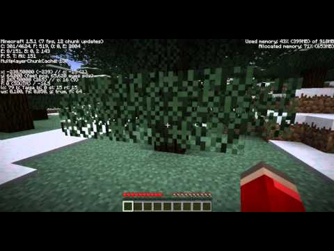 minecraft survivalen Funky#4 [omsingelt door skeleten]