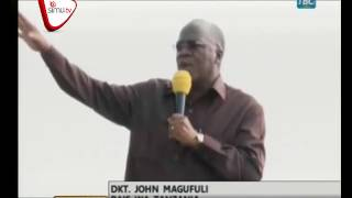 Rais Magufuli Awabeba Machinga Morogoro