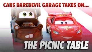 getlinkyoutube.com-Disney Pixar Cars   The Die-cast Series Ep. 8   Takes on the Picnic Table