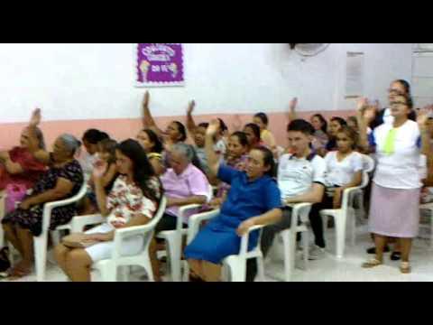 PREGAÇÃO E REVELAÇÃO DA MISSIONARIA MILENA DA IGREJA PENTECOSTAL DEUS É AMOR