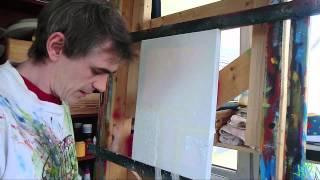 getlinkyoutube.com-Acrylmalerei - Strukturpaste herstellen Teil 1