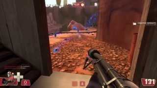 getlinkyoutube.com-TF2 bot battle 17 : Pyro VS Demoman