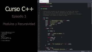 getlinkyoutube.com-Programacion C++ | Episodio 3 | Modulos y Recursividad