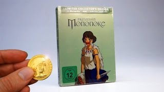 getlinkyoutube.com-Unboxing: Prinzessin Mononoke ( Limited Collector's Edition ) Steelbook Blu-ray