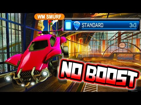 FULL CHAMP TEAM USES NO BOOST IN RANKED ROCKET LEAGUE!!