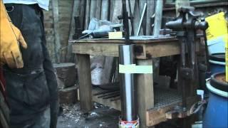 getlinkyoutube.com-Truck spring Katana sword part 2