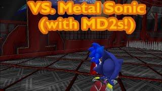 getlinkyoutube.com-Sonic Robo Blast 2 v2.1 - Metal Sonic Race (MD2s)