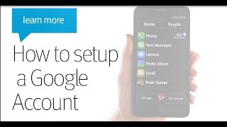 getlinkyoutube.com-How to Setup a Google Account - Jitterbug Smart