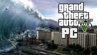 getlinkyoutube.com-TSUNAMI HITS LOS SANTOS - APOCALYPSE IN  GTA V PC - Mod Gameplay