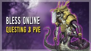 getlinkyoutube.com-Bless Online | Questing & How's The PvE?