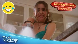 getlinkyoutube.com-Adventures in Babysitting | Lola's Babysitting Fail | Official Disney Channel UK