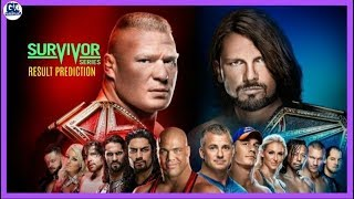 WWE Survivor Series 2017 Highlights Result Prediction